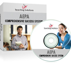 Order the AEPA Library Educational Media (12) 7 Day Comprehensive Success System