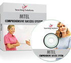 Order the MTEL Academically Advanced 7 Day Comprehensive Success System