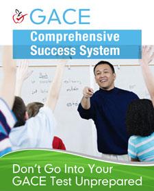 GACE study guide books