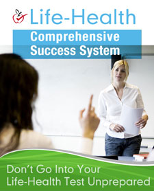 Life Health study guide books