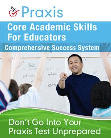 Praxis Core study guide books